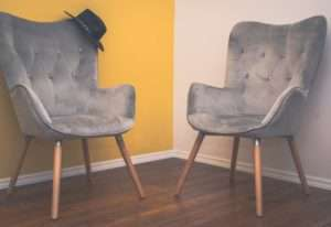 Soft velvet chairs cleaned by cleaners Smyrna GA
