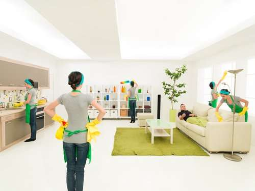 What do basic cleaning services entail