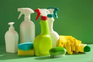 What are green cleaning supplies