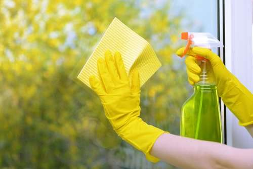 What does green cleaning mean