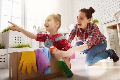 How do you organize household daily chores