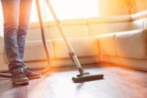 Is it better to sweep or vacuum hardwood floors