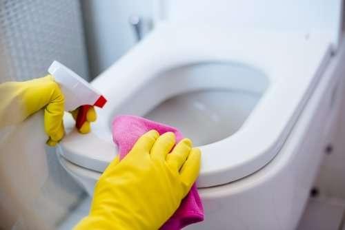 How do I get my toilet bowl white again