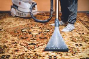 How can I clean my rug at home