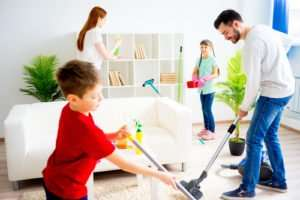 How to spring clean your house in a day