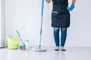 What should I focus on during the Coronavirus cleaning