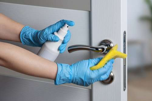 What kinds of disinfectants and cleaners are effective against the coronavirus disease