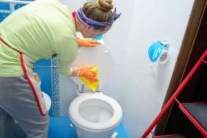 What is the best bathroom disinfectant