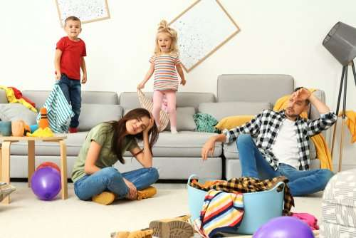 How can I stop cluttering in my house